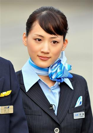 綾瀬はるか☆CAが似合うタレントランキング